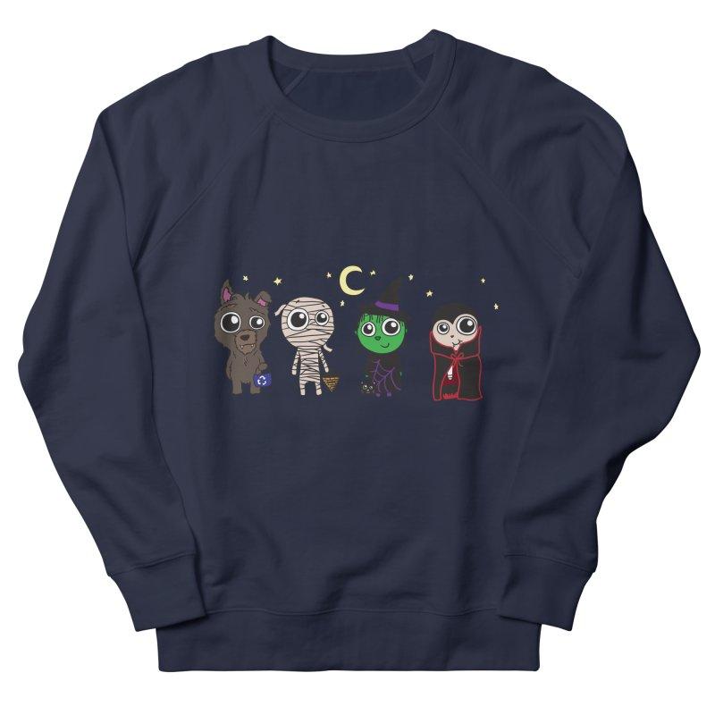 Happy Halloween! Men's French Terry Sweatshirt by LLUMA Creative Design