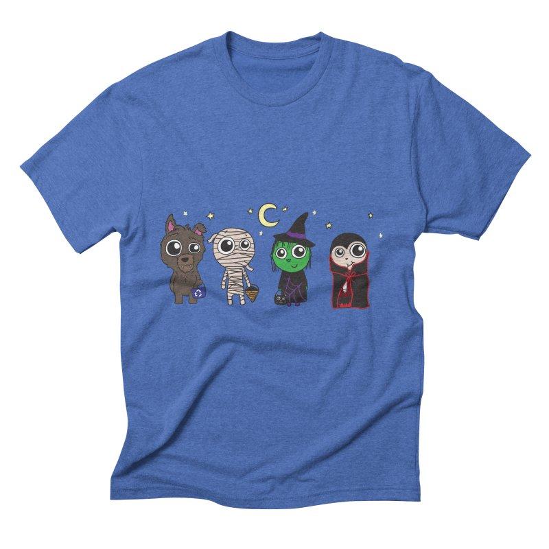 Happy Halloween! Men's T-Shirt by LLUMA Creative Design