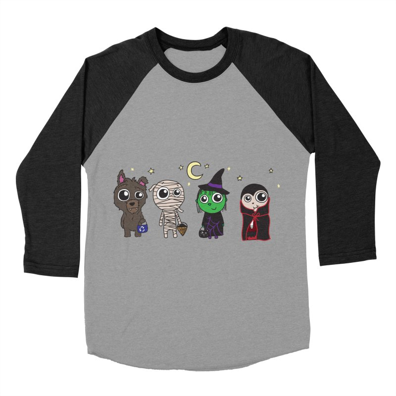 Happy Halloween! Women's Baseball Triblend Longsleeve T-Shirt by LLUMA Creative Design