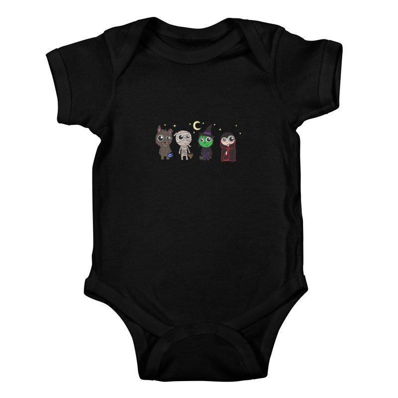 Happy Halloween! Kids Baby Bodysuit by LLUMA Creative Design
