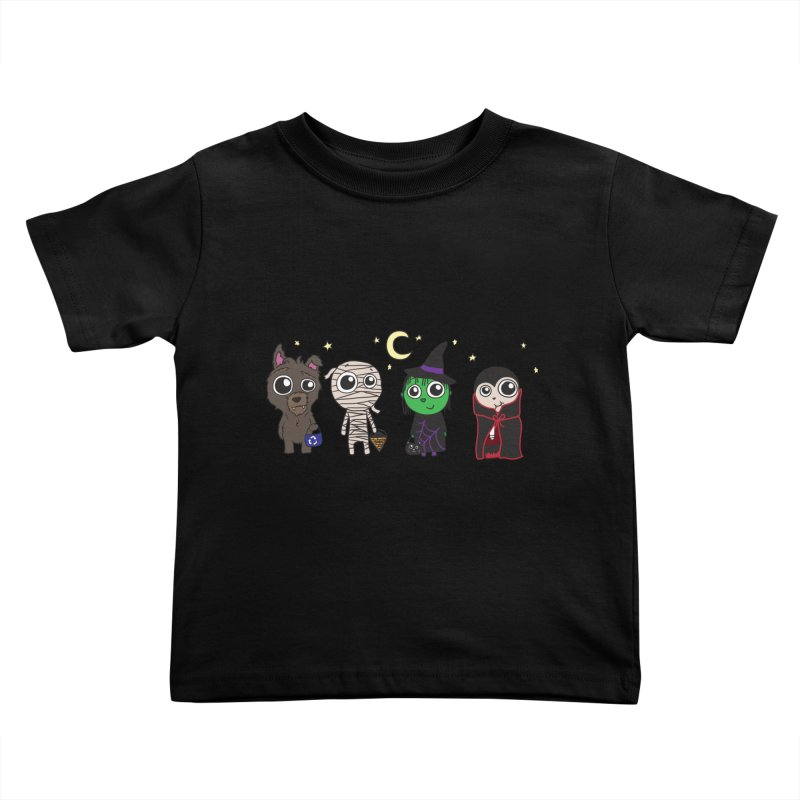 Happy Halloween! Kids Toddler T-Shirt by LLUMA Creative Design