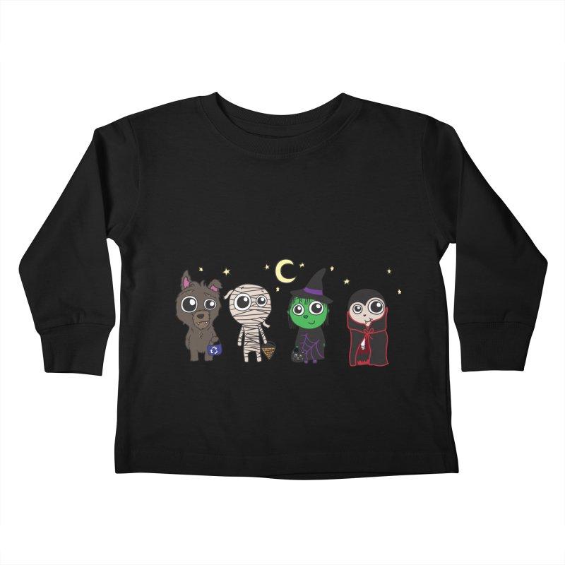 Happy Halloween! Kids Toddler Longsleeve T-Shirt by LLUMA Creative Design