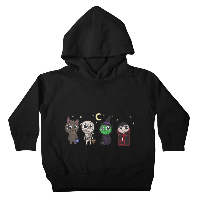 Happy Halloween! Kids Toddler Pullover Hoody by LLUMA Creative Design