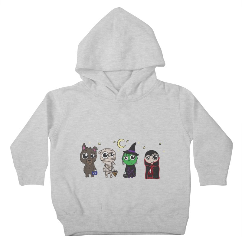 Happy Halloween! Kids Toddler Pullover Hoody by LLUMA Creative Design