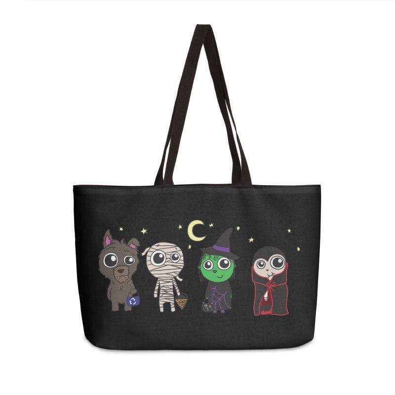 Happy Halloween! Accessories Weekender Bag Bag by LLUMA Creative Design
