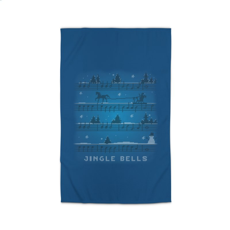 Jingle Bells Knit Home Rug by LLUMA Design