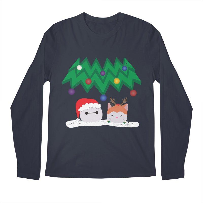Santa Baymax Men's Longsleeve T-Shirt by LLUMA Design