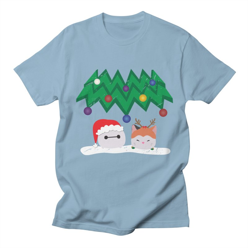 Santa Baymax Men's T-Shirt by LLUMA Design