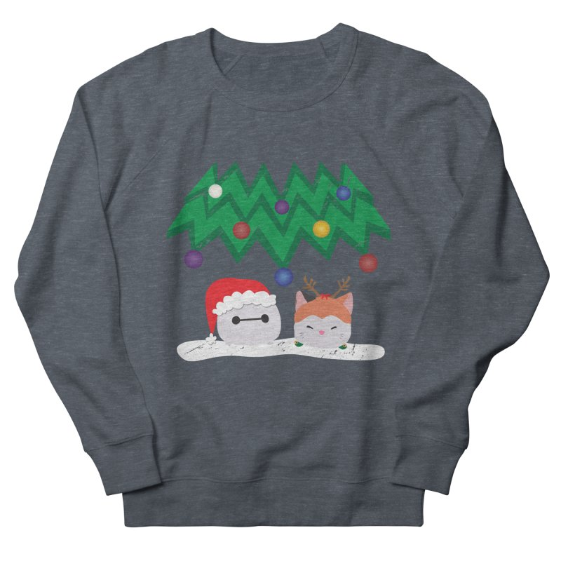 Santa Baymax Men's Sweatshirt by LLUMA Design