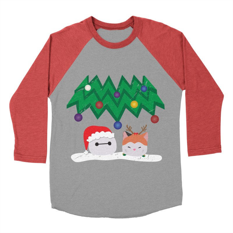 Santa Baymax Men's Baseball Triblend T-Shirt by LLUMA Design