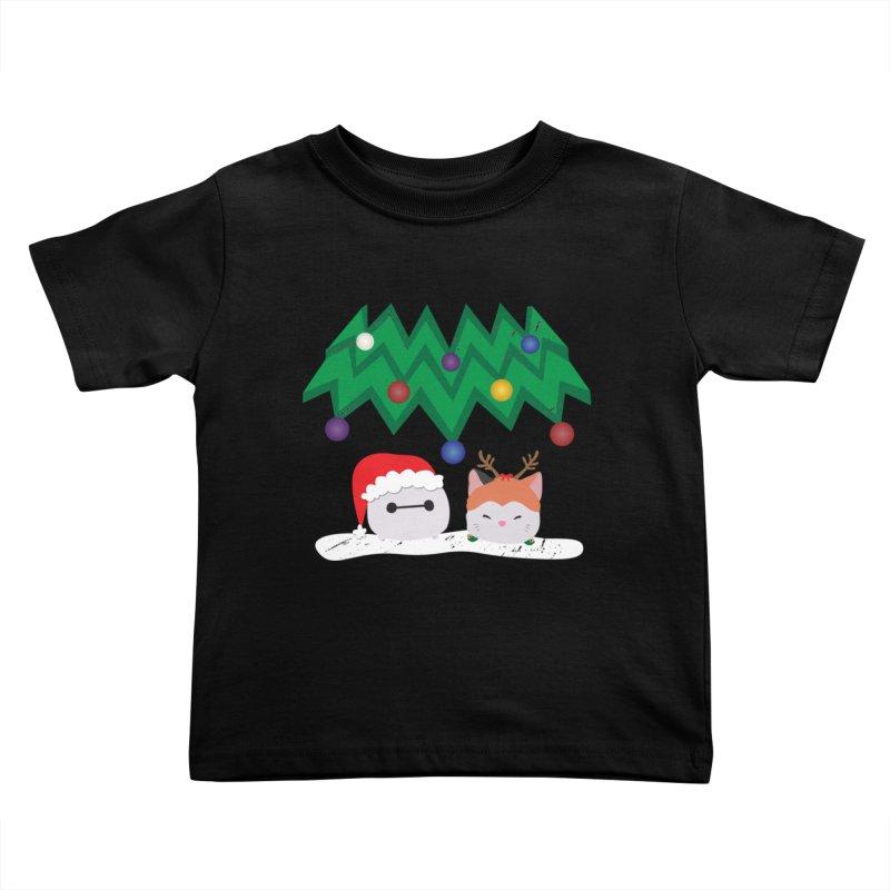 Santa Baymax Kids Toddler T-Shirt by LLUMA Design