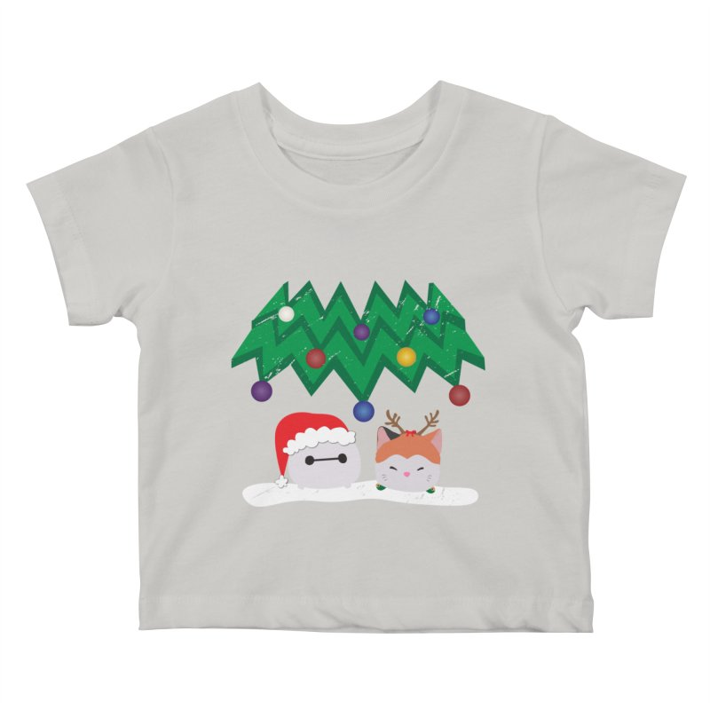 Santa Baymax Kids Baby T-Shirt by LLUMA Design