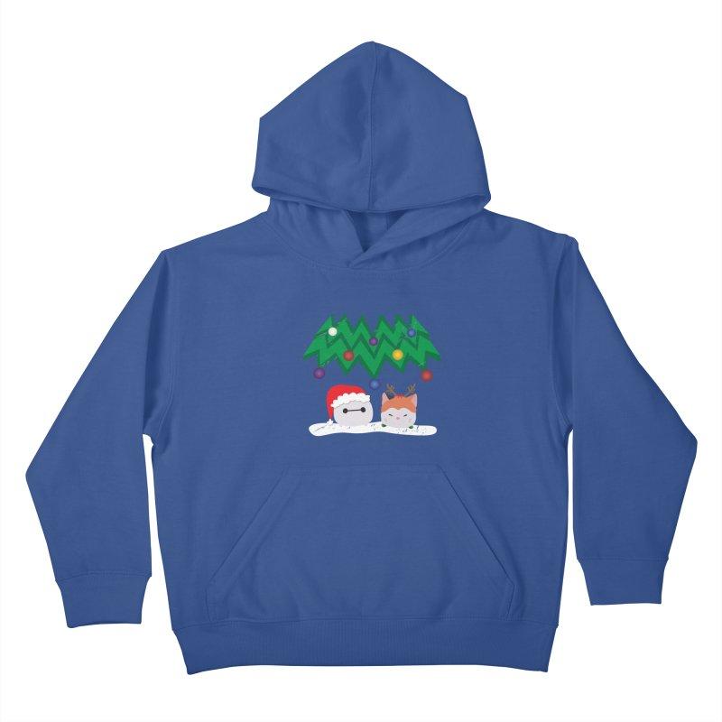 Santa Baymax Kids Pullover Hoody by LLUMA Design