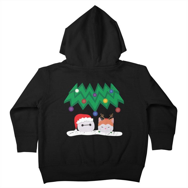 Santa Baymax Kids Toddler Zip-Up Hoody by LLUMA Design
