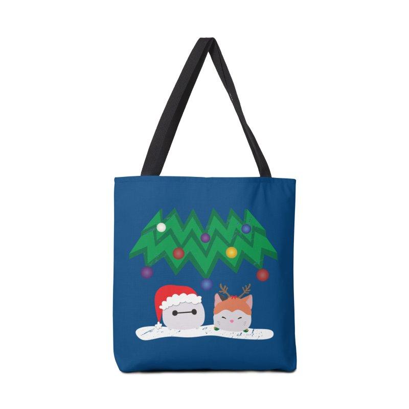 Santa Baymax Accessories Bag by LLUMA Design