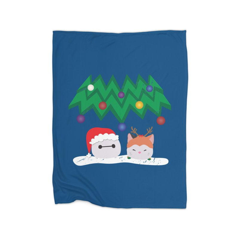 Santa Baymax Home Blanket by LLUMA Design