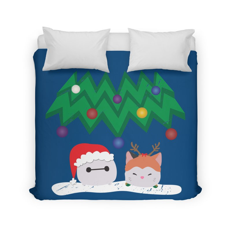 Santa Baymax Home Duvet by LLUMA Design