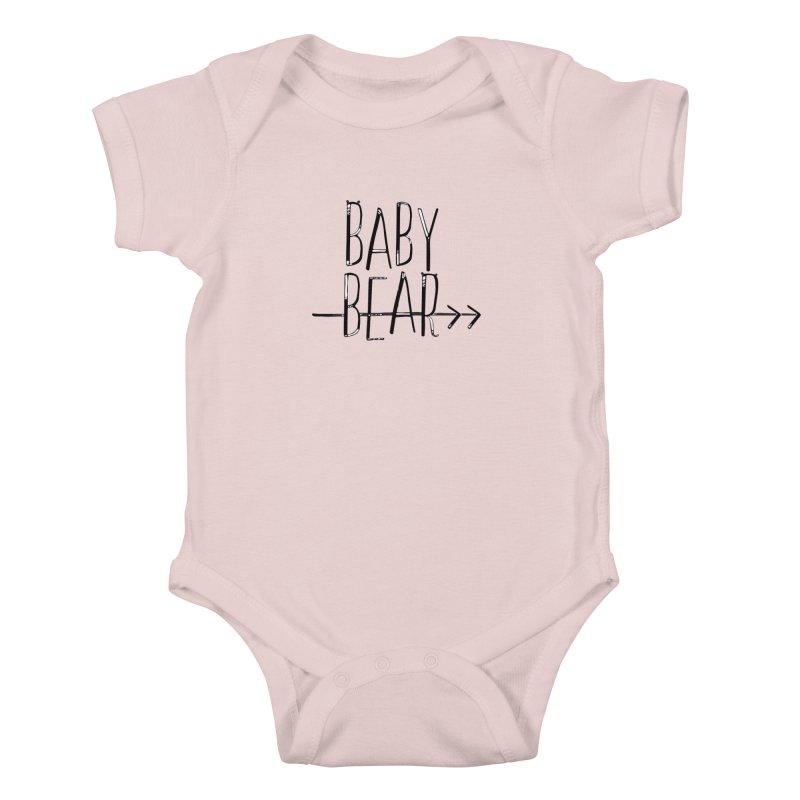 Baby Bear Kids Baby Bodysuit by LLUMA Creative Design