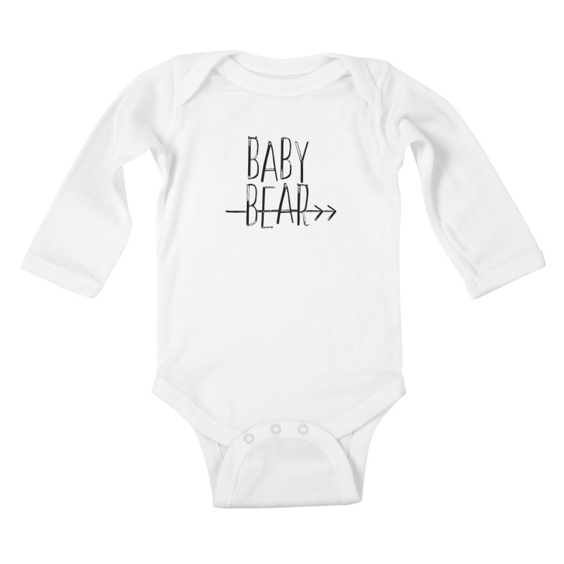 Baby Bear Kids Baby Longsleeve Bodysuit by LLUMA Creative Design