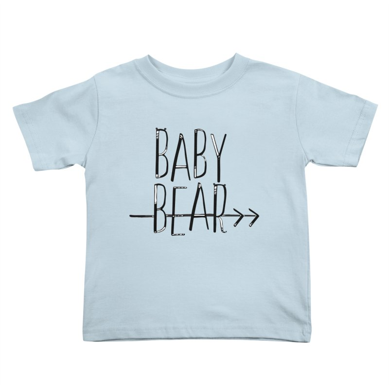 Baby Bear Kids Toddler T-Shirt by LLUMA Creative Design