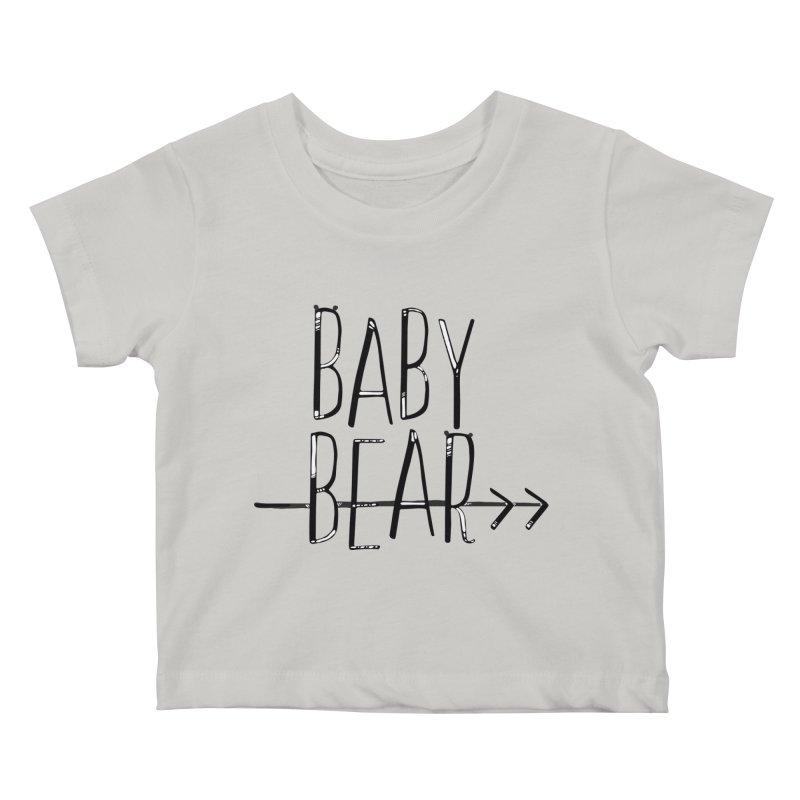 Baby Bear Kids Baby T-Shirt by LLUMA Creative Design