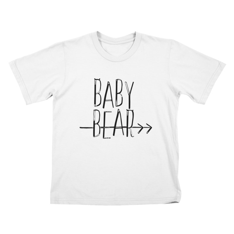 Baby Bear Kids T-Shirt by LLUMA Creative Design