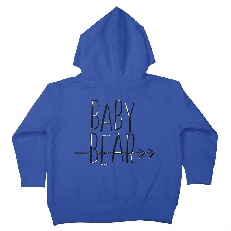 Baby Bear Kids Toddler Zip-Up Hoody by LLUMA Creative Design