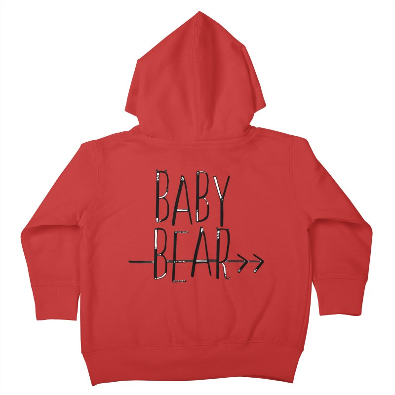 Baby Bear Kids Toddler Zip-Up Hoody by LLUMA Creative Design