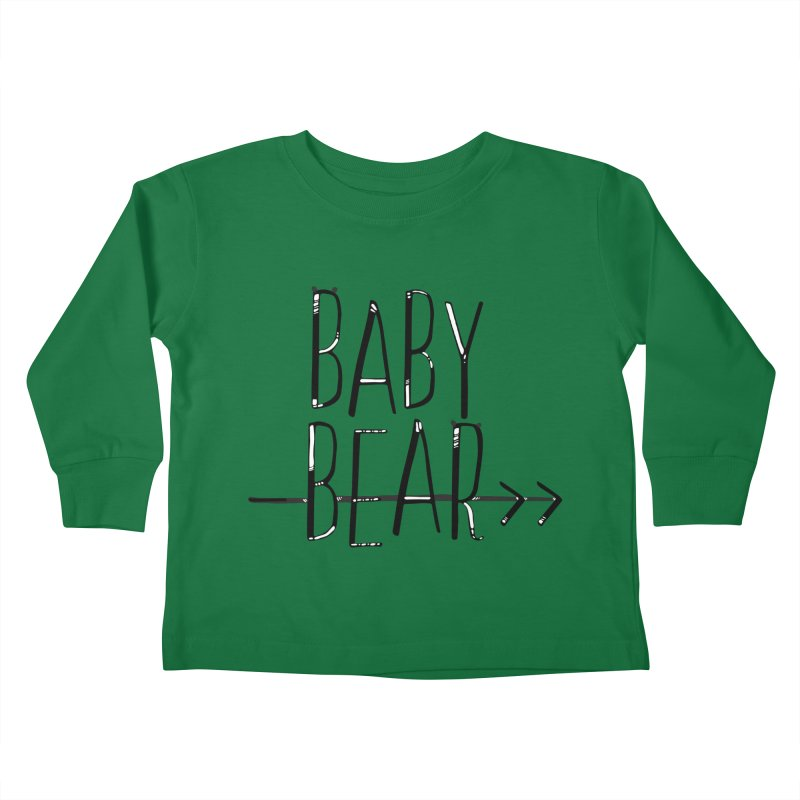 Baby Bear Kids Toddler Longsleeve T-Shirt by LLUMA Creative Design