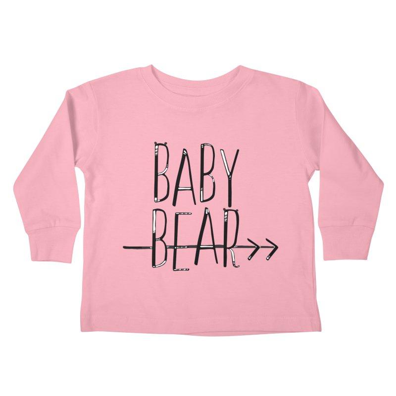Baby Bear Kids Toddler Longsleeve T-Shirt by LLUMA Creative Design