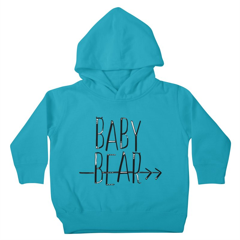 Baby Bear Kids Toddler Pullover Hoody by LLUMA Creative Design