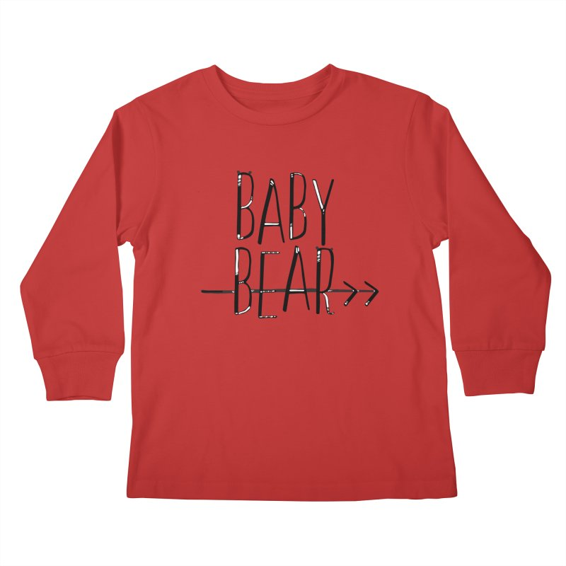 Baby Bear Kids Longsleeve T-Shirt by LLUMA Creative Design