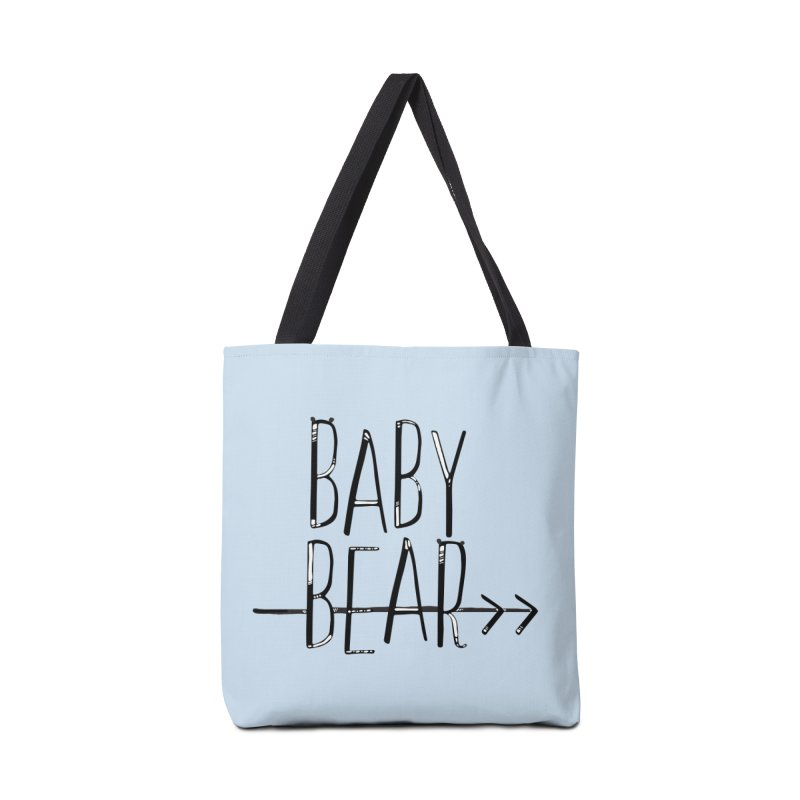 Baby Bear Accessories Tote Bag Bag by LLUMA Creative Design