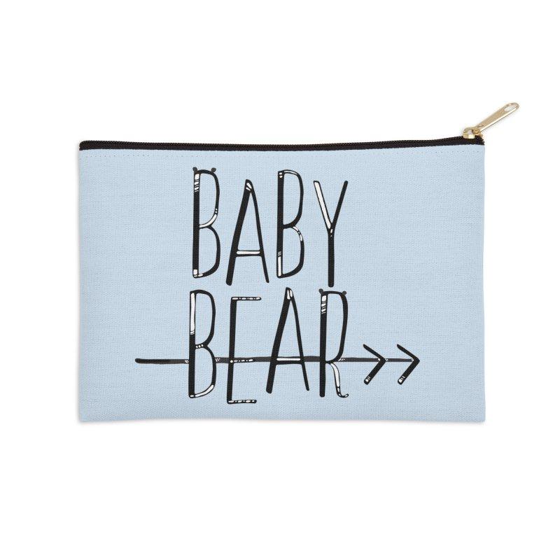Baby Bear Accessories Zip Pouch by LLUMA Design