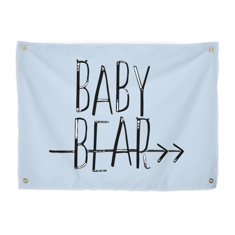 Baby Bear Home Tapestry by LLUMA Creative Design