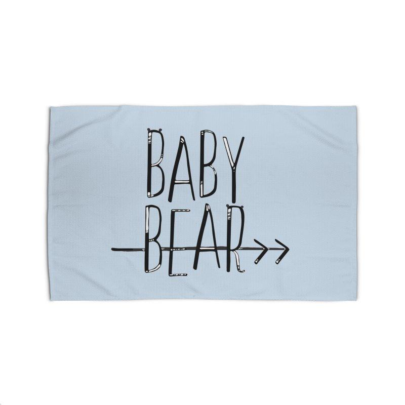 Baby Bear Home Rug by LLUMA Creative Design