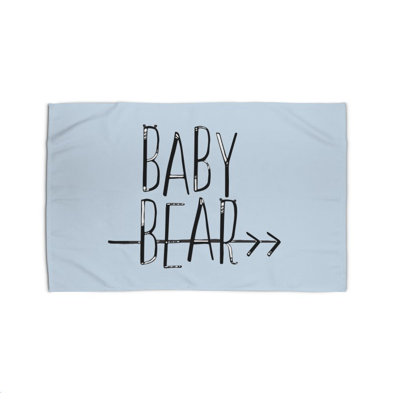 Baby Bear Home Rug by LLUMA Creative Design