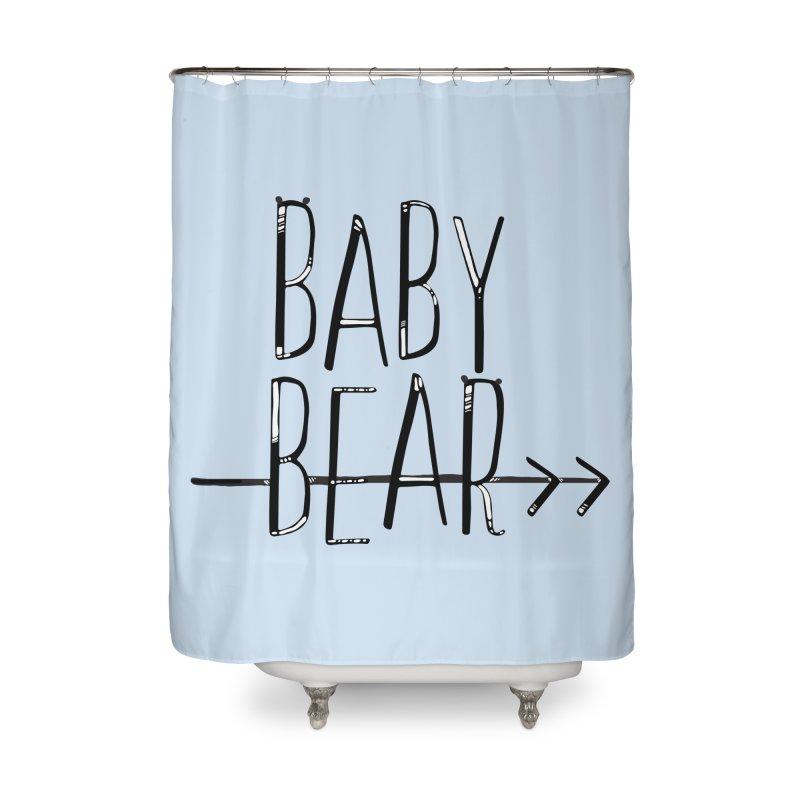 Baby Bear Home Shower Curtain by LLUMA Creative Design
