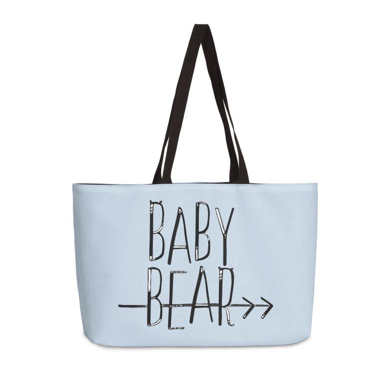Baby Bear Accessories Weekender Bag Bag by LLUMA Creative Design