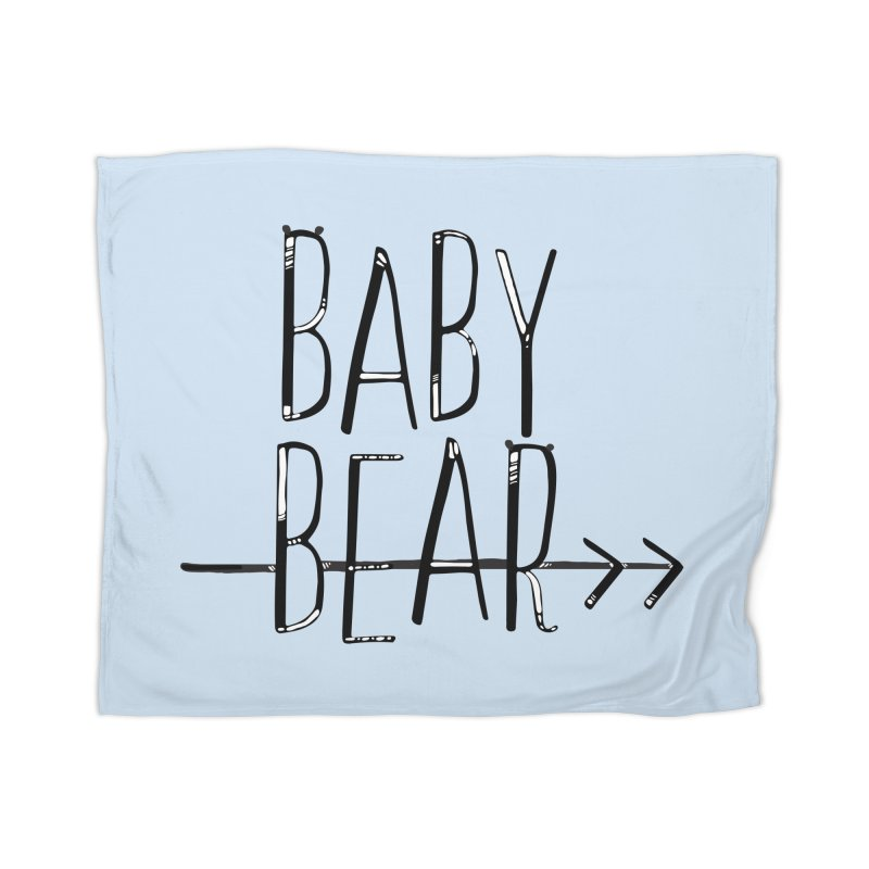 Baby Bear Home Blanket by LLUMA Creative Design