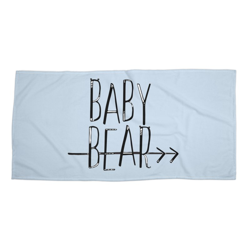 Baby Bear Accessories Beach Towel by LLUMA Creative Design