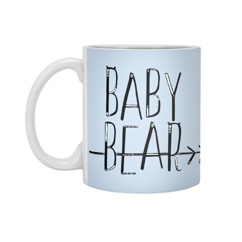 Baby Bear Accessories Mug by LLUMA Creative Design