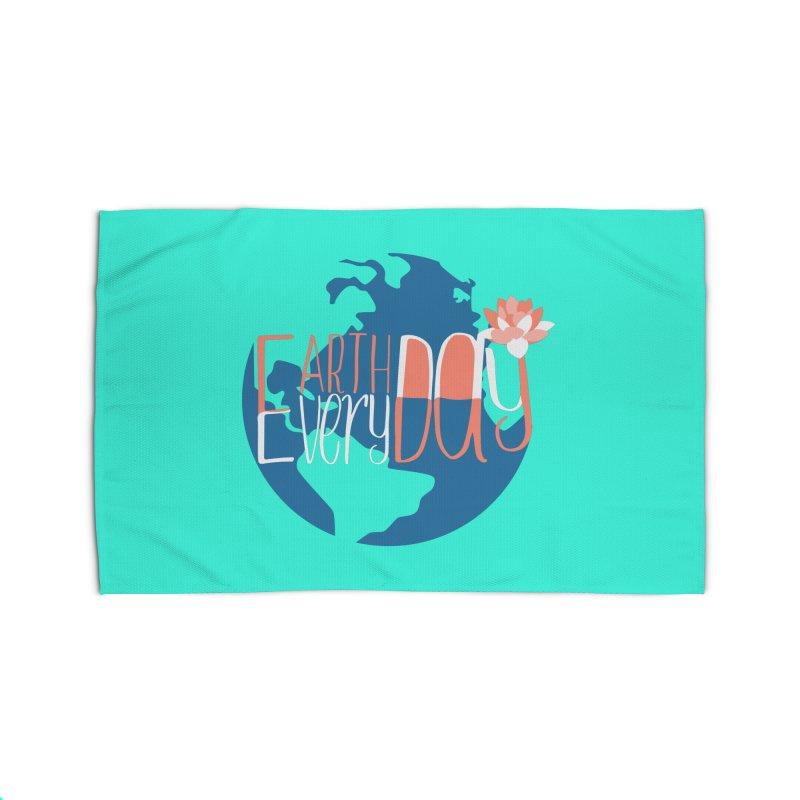 Earth Day Every Day Home Rug by LLUMA Creative Design