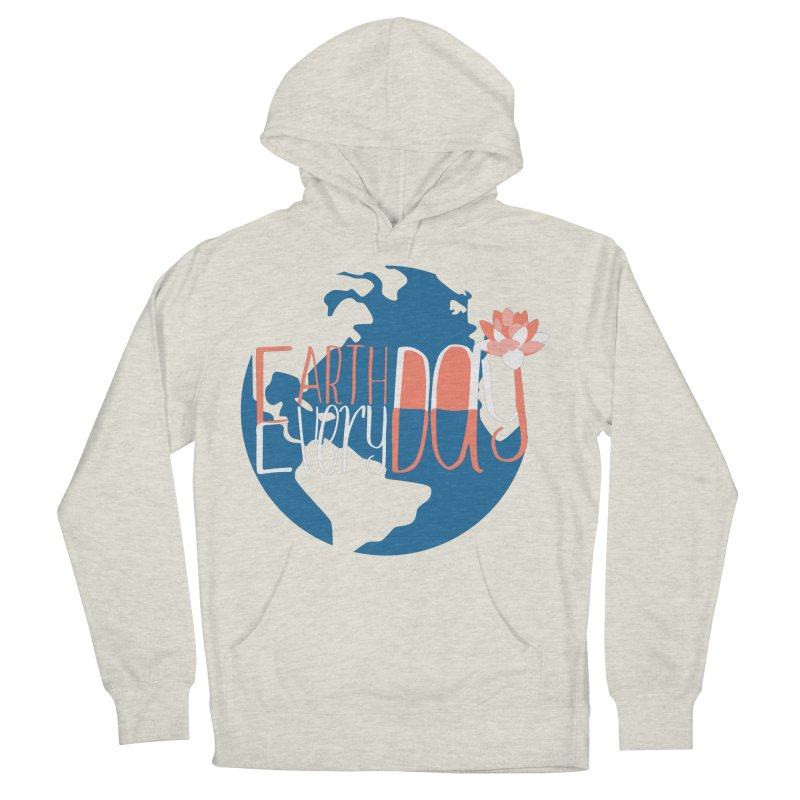 Earth Day Every Day Men's Pullover Hoody by LLUMA Creative Design