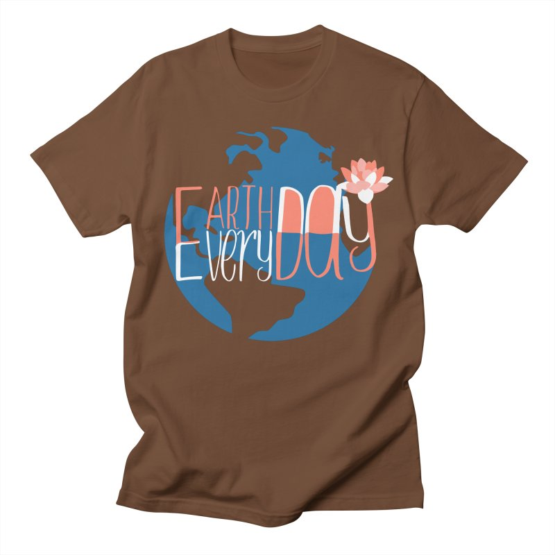 Earth Day Every Day Men's T-Shirt by LLUMA Creative Design