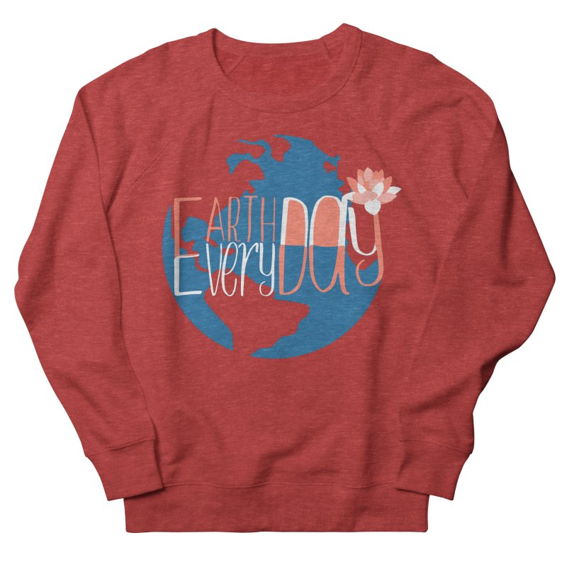 Earth Day Every Day Men's Sweatshirt by LLUMA Creative Design