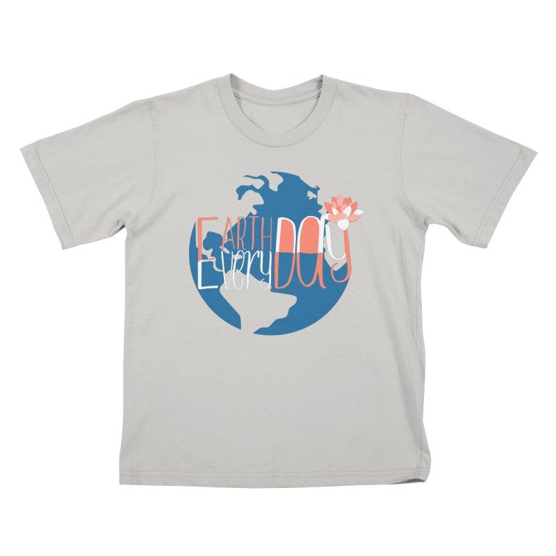 Earth Day Every Day Kids T-Shirt by LLUMA Creative Design