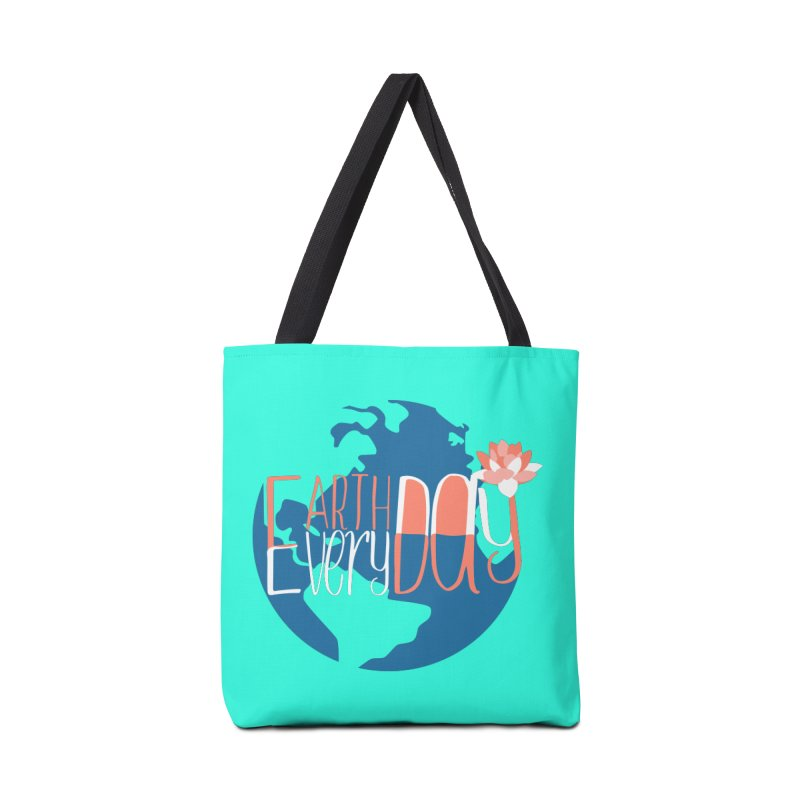 Earth Day Every Day Accessories Bag by LLUMA Creative Design