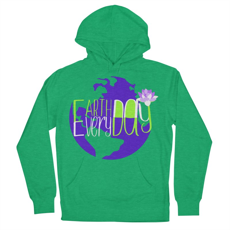 EDED - Earth Day Every Day Men's Pullover Hoody by LLUMA Creative Design