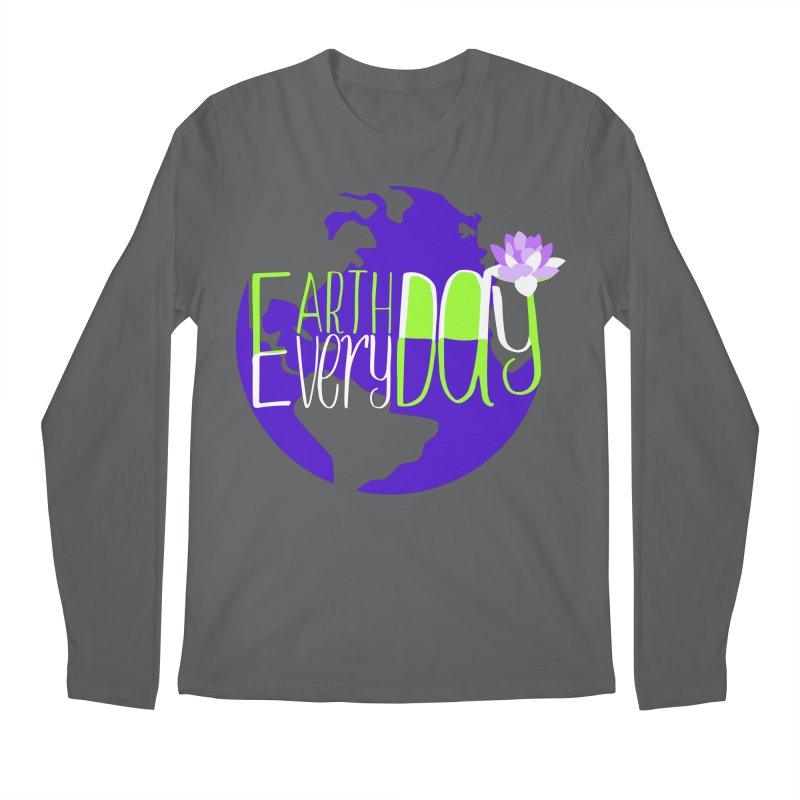 EDED - Earth Day Every Day Men's Longsleeve T-Shirt by LLUMA Creative Design